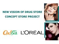 NEW VISION OF DRUG STORE CONCEPT STORE PROJECT