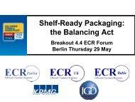 Shelf-Ready Packaging: the Balancing Act - ECR Community
