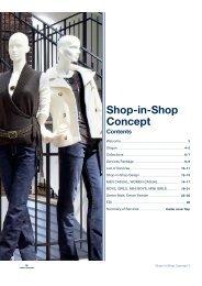 Shop-in-Shop Concept Contents - TOM TAILOR B2B-Shop