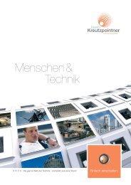 Menschen & Technik downloaden - Elektro Kreutzpointner