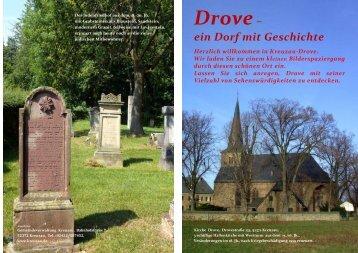 Flyer: Drove ein Dorf mit Geschichte (PDF, 2 - Gemeinde Kreuzau