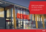 REWE Green Building – the future concept. - REWE Group