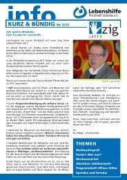 Ausgabe 5/12 als PDF - Lebenshilfe Pforzheim Enzkreis eV