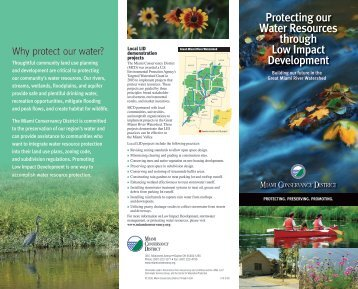 Protecting our Water Resources through Low Impact Development