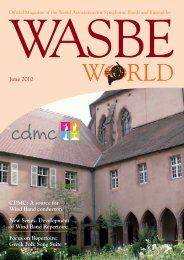 print - World Association for Symphonic Bands and Ensembles