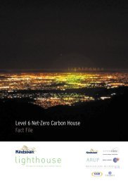 Level 6 Net-Zero Carbon House Fact File - Kingspan Lighthouse