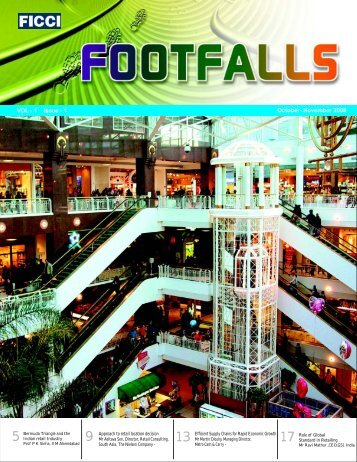 ficci final footfalls - Federation of Indian Chambers of Commerce and ...