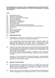 Ordnungsbehördliche Verordnung über die ... - Kreuztal