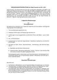 Vergnügungssteuersatzung 2012 - Kreuztal