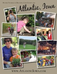 Download our Community Guide - Atlantic, Iowa