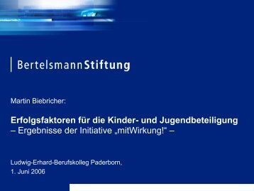 mitWirkung! - Ludwig-Erhard-Berufskolleg