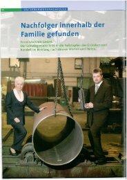 Pressebericht - Ernst-Leo Krick GmbH