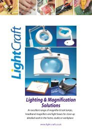 Lighting & Magnification Solutions - Krick