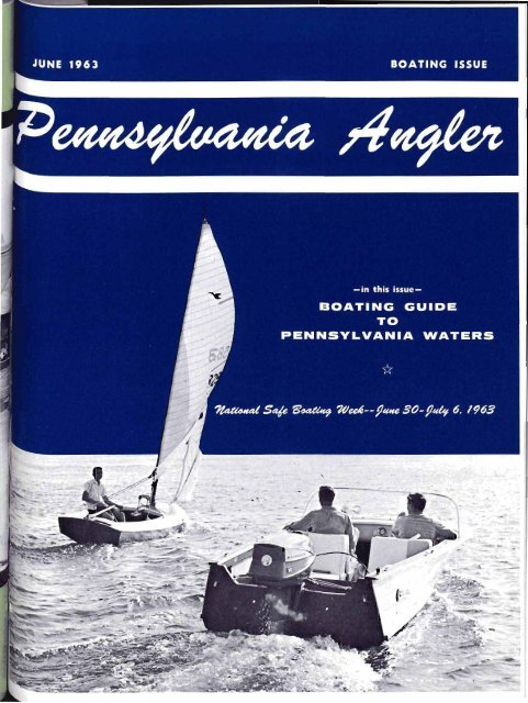 June 1963 Boating Issue Pennsylvania Fish And Boat Commission