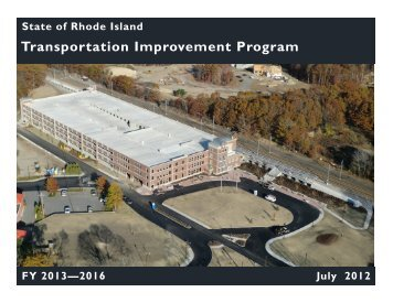 Transportation Improvement Program 2013 - 2016 - Statewide ...