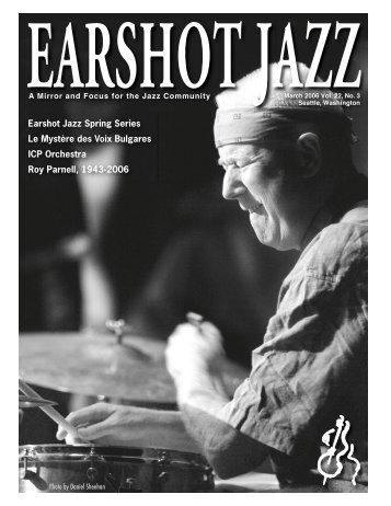 Roy Parnell (1943-2006) - Earshot Jazz