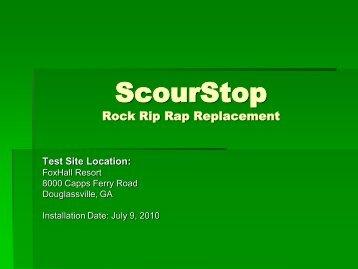 ScourStop Rock Rip Rap Replacement - Hanes Industries