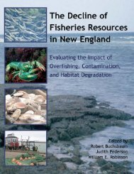The Decline of Fisheries Resources in New England