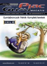 Gumiabroncsok- Felnik- Komplett kerekek - GumiPiac Magazin