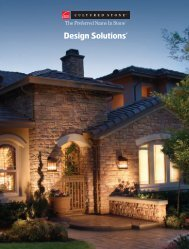 Design Solutions® Catalog 65 pages - Beauty Stone