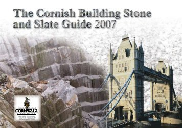 Cornish Building Stone and Slate Guide - Cornwall Council