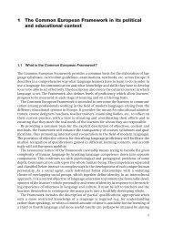 Common European Framework - 404 Page not found