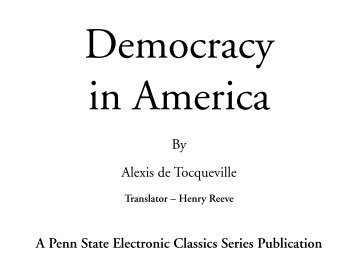 essay characteristics american democracy Free american democracy papers, essays, and research papers.