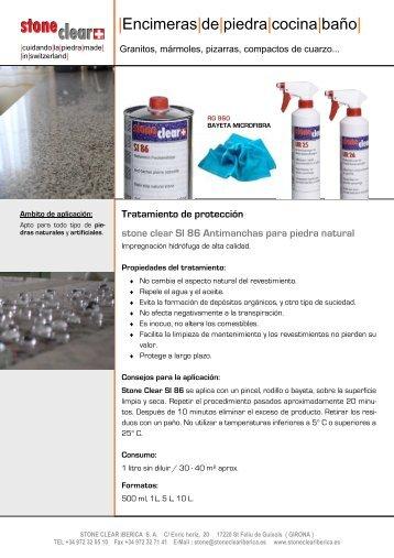 Mantenimiento encimeras en piedras naturales itaca design for Encimeras de piedra precios