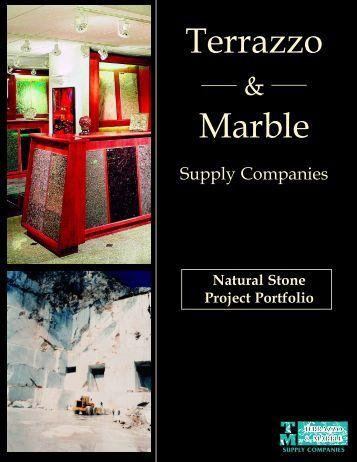 Natural Stone Portfolio.qxd - Terrazzo and Marble Supply