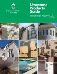 Indiana Limestone Products Guide - Delta Stone Products