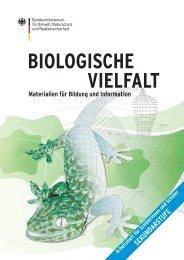 BIOLOGISCHE VIELFALT - Materialien für Bildung und Information