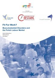 FfW Polish Report (English language version) - Fit for Work Europe