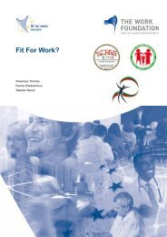 FfW Bulgarian report (English language) - Fit for Work Europe