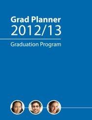 Graduation Program - Grad Planner - Education