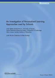 An Investigation of Personalised Learning Approaches used by ...