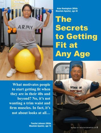 The Secrets to Getting Fit at Any Age - Indian Health Service