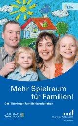 Mehr Spielraum für Familien!