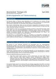Branchenbrief Thüringen (23) - Landesentwicklungsgesellschaft ...
