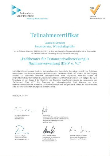 Zertifikat 1