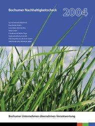 Bochumer Nachhaltigkeitscheck - Trifolium