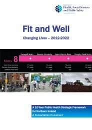 Fit and Well - Changing Lives - Department of Health, Social ...