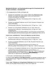 Merkblatt EU-Einfuhr- und Ausfuhrbestimmungen für ... - Kreis Soest