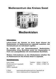 Medienkisten Sekundarstufe 1 - Kreis Soest