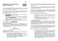Merkblatt zur Heimaufnahme - Kreis Soest