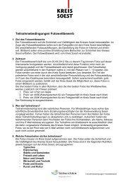 Teilnahmebedingungen Fotowettbewerb - Kreis Soest