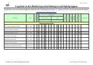 Angebote Einrichtungen.xls - Kreis Soest