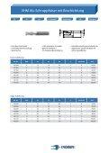 Hochleistungsfräser für die Bearbeitung von ... - Kromer GmbH - Page 7