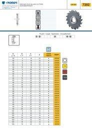 Scheibenfräser DIN 885, HSS-E05 - Kromer GmbH