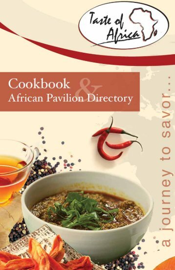 Recipes - Taste of Africa