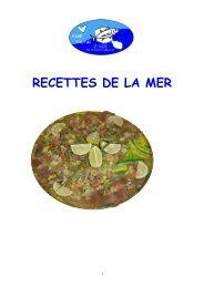 RECETTES DE LA MER